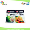 Food grade AA packing bags.Top sale custom design aluminum foil opp nuts candy and tea pp plastic food packing bag