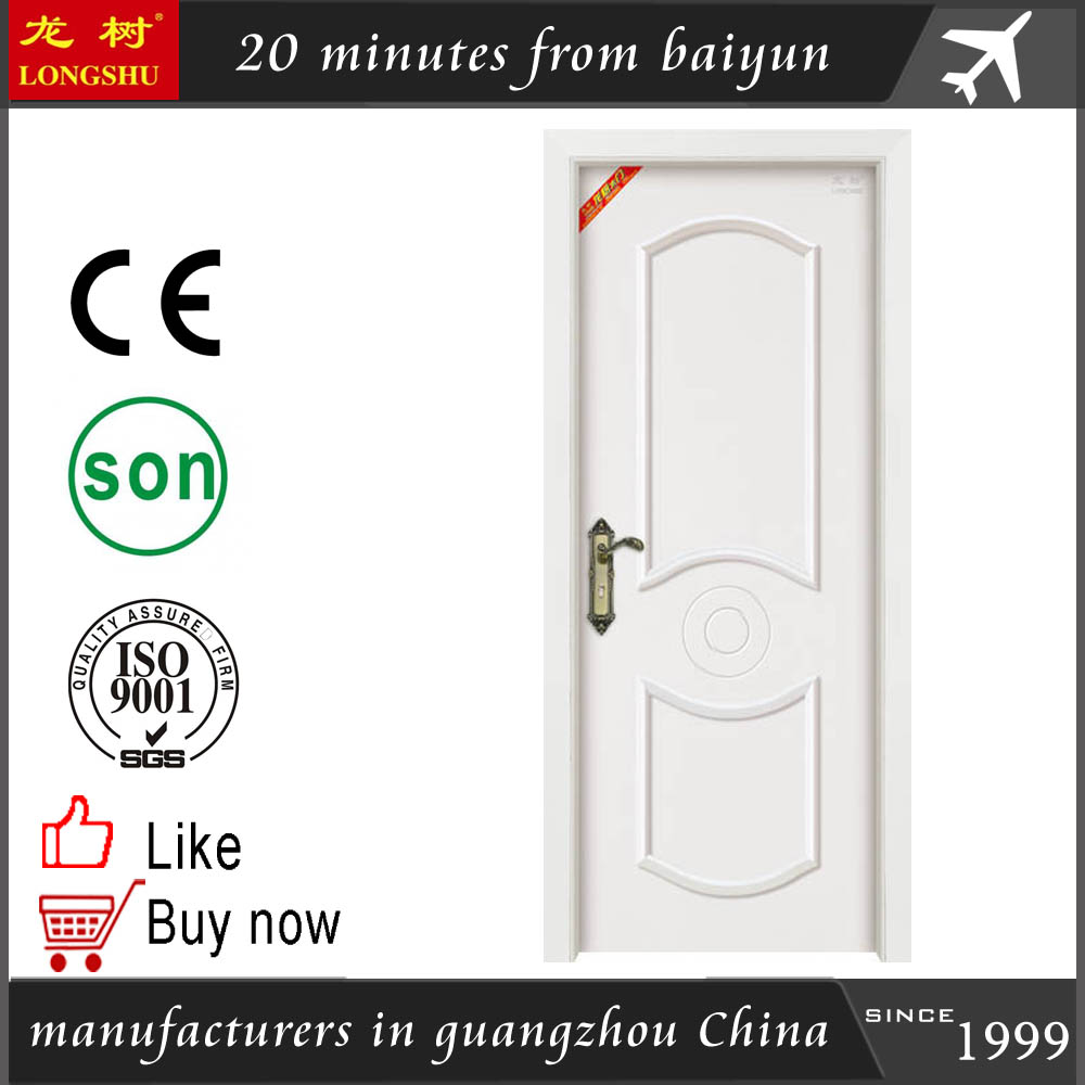 moulded solid wood door for the room door swings for home