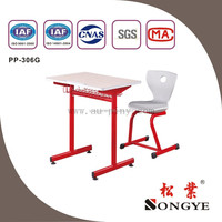 (Furniture)School table and chair ,plastic chair , Metal frame school desk and chair ,school furntiure
