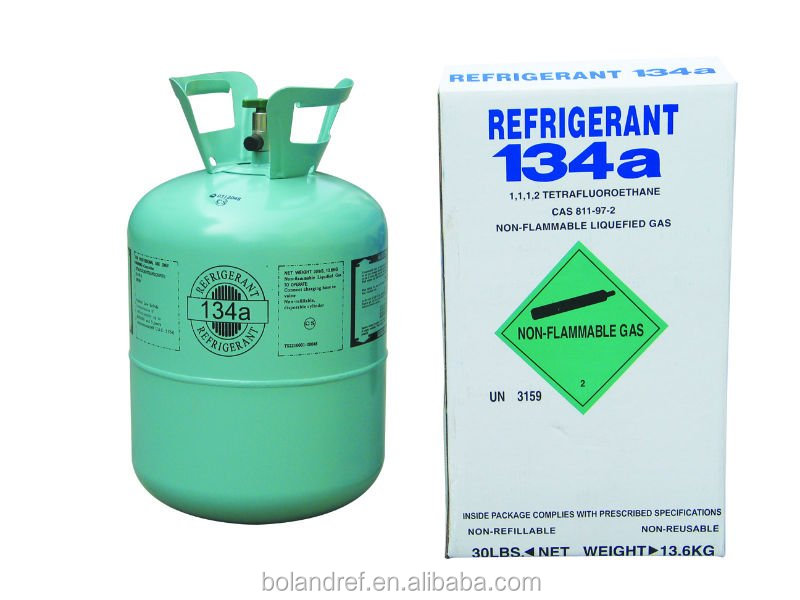 99.9% purity refrigerant gas R134a R404a R141 for air condition