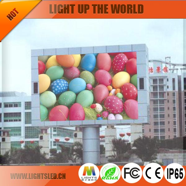 LED Screen Full Color Outdoor Ph10 Outdoor LED Display Screen Module,Outdoor Advertising LED TV Video Wall For street usage