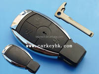 Auto key smart key 3 buttons remote shell cover case car key blank