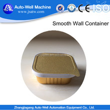 Disposable smoothwall Aluminium Foil Tray