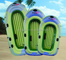 funny pvc inflatable boat fishing boat for outdoor game