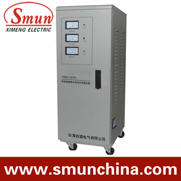 10KVA SVC single-phase high accuracy AC voltage stabilizer