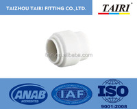 plastic push fit fitting end cap / quick fitting / fast joint