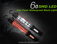 60 SMD LED Light 4400mAh signal warning light waterproof private label led light manufacturers