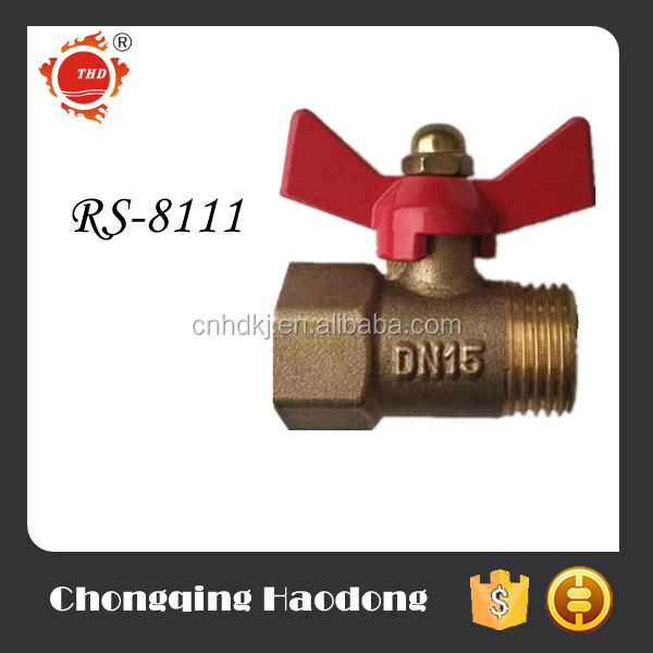Mini gas equipmet copper ball valve dn15