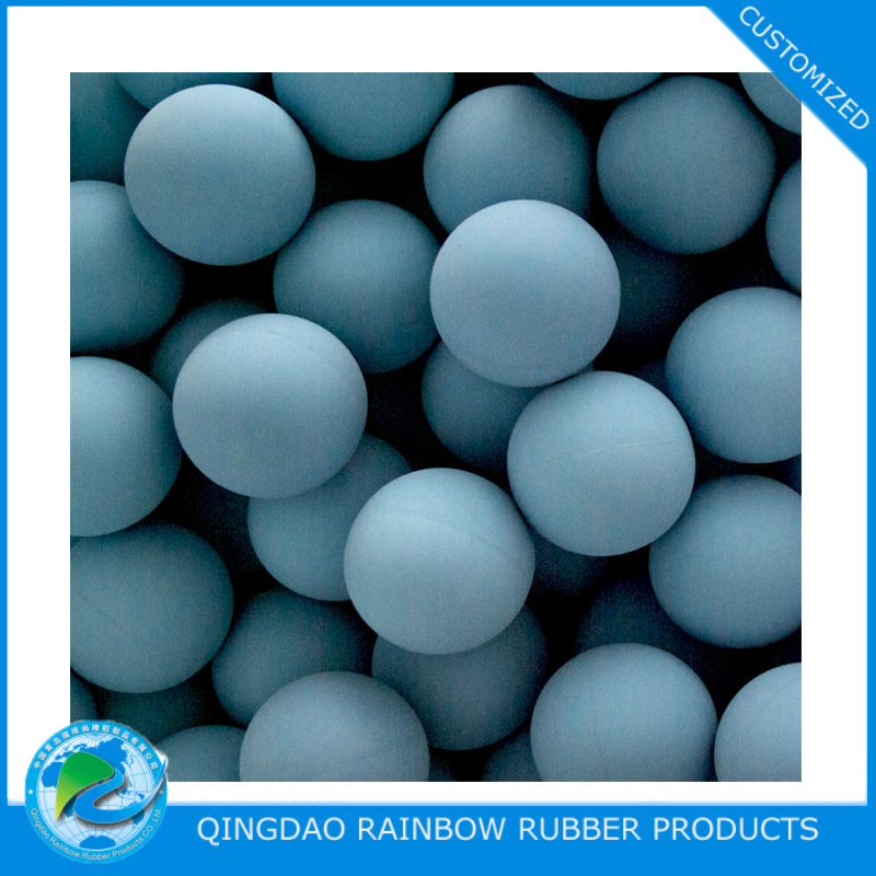 Soft EPDM NBR NR silicone rubber ball