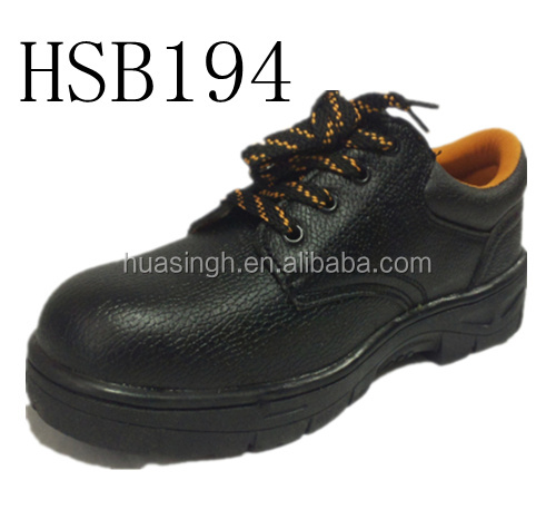 unisex safety steel toe cap work industrial shoes footwear rubber stitched glue sole