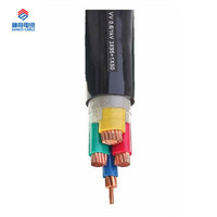 3+1 Cores Power Cable with PVC insluation and Cu-tape Shielding, Anti- Lightning Stroke Cable