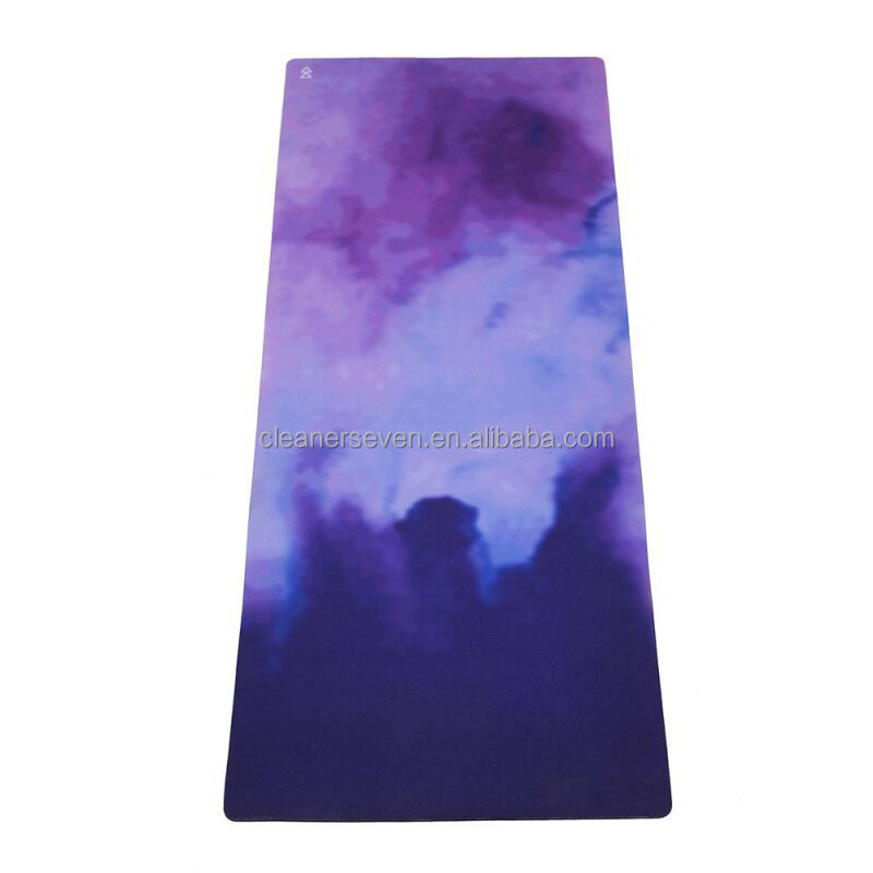 China factory supplier yoga mat private label digital printed natural rubber zenergy fitness eco mat for yoga