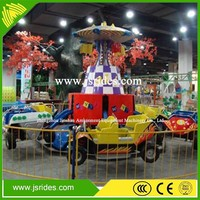 With CE amusement equipment crazy dance ride/jumping car
