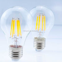 GS/CE/ERP Dimmable 4W led filament bulb, A60 led filament lamp