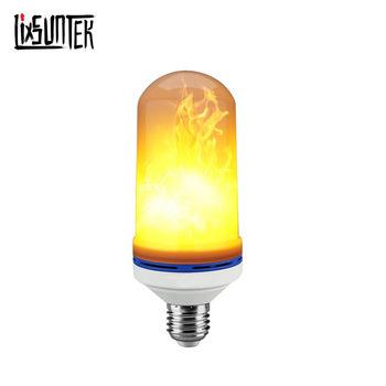 Simulation Fire Burning E27/E26/B22 Led Flame Effect Light Bulb Flicker Flame Bulb
