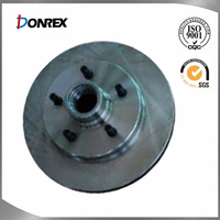 investment casting car disc brake rotor
