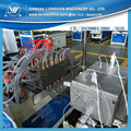 Plastic profiles producing line for PVC wood plastic profiles making machine price