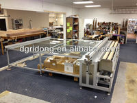 China Curtain fabric cutting table