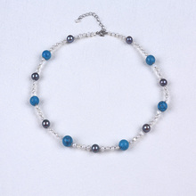 Wholesale Cheap Natural Pearls Gemstone Turquoise Necklace