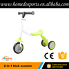 Wholesale 2 in 1 kick scooter baby plastic scooter 3 wheel kids scooter
