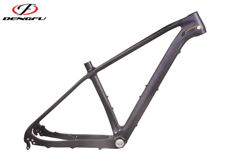 Deng fu mountain bike carbon frame BSA or BB30 carbon frame with UD finish