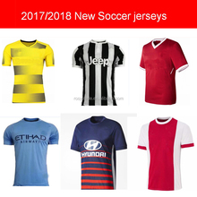 New 2017 Thai Quality football shirt club soccer jersey Customized blank soccer jerseys