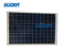Suoer 50w 18v Poly Solar Power Cell Panel with CE ROHS