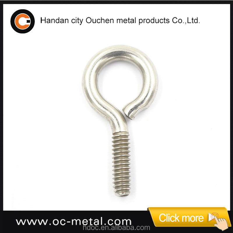 High Quality Galvanizing Lifting M4 Eye Bolt