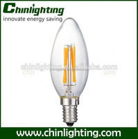 antique vintage light bulbs c35 e14 led lamp 4w c35 e14 china factory dimmable led chandelier cob bulb c35