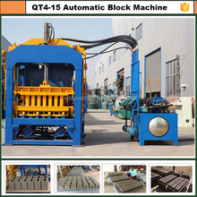 paver machine for road construction/unburned brick production line/paving stone moulding machine QT4-15C