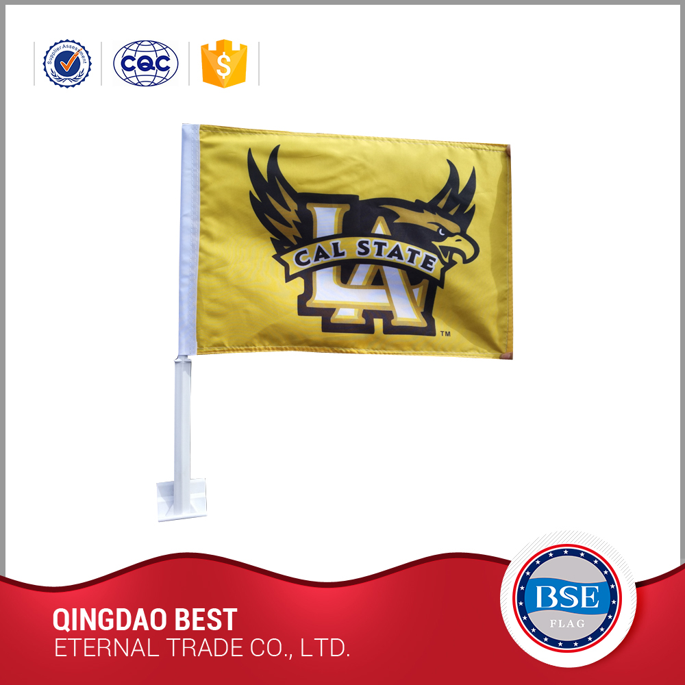 famous brand BSE supply custom import car flags with high quality