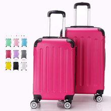 Wholesale Urban Hard Plastic Luggage ABS PC trolley suitcase luggage carry on suitcase for business