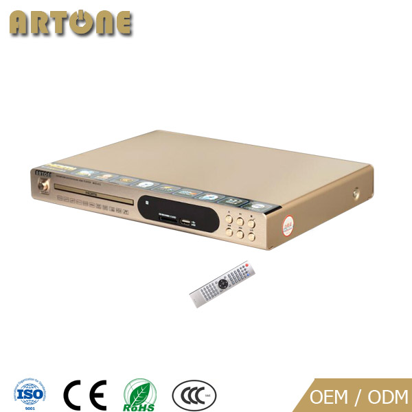 HVD-311 HD Factory cheap price Karaoke home dvd player with 2.1 audio output with USB 2CH/vedio