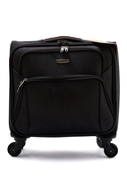 Ployester soft trolley luggage bag for laptop