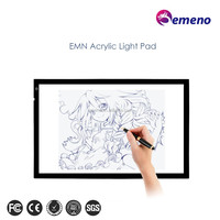 hot sale A4 size acrylic slim tracing board led drawing copy table