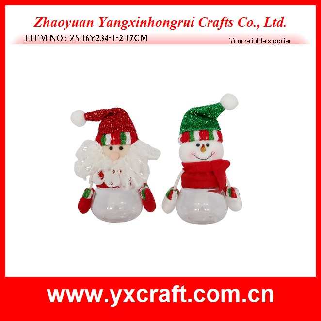 Christmas decoration (ZY16Y234-1-2 17CM) christmas product selling christmas fancy decoration gift idea