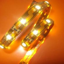 led strips 5050 SMD yellow waterproof for holiday with CE RoHS FCC certificates