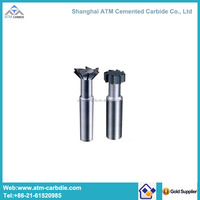 Hot selling T-slot tungsten carbide milling cutter with coating