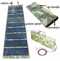 High efficency SUNPOWER 100 watts, 100 watts fabric folding solar panel, cloth foldable solar panels