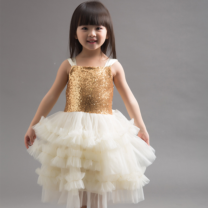Hot sale girls sequin tutu dress school girl 12 year girl without dress