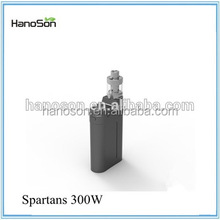 World last longer spartans 300w mod box box mod 300w TC touch box Output voltage max 12.6V battery kit from HNS
