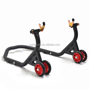 Cost effective SUMOMOTO FALCON racing stands ,SMI3037VTX series with V or L adapters rear stand with 4 nice wheels