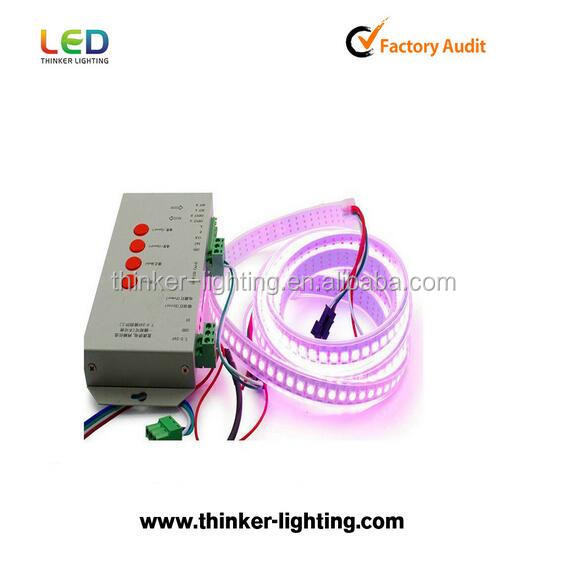 Advertising lamp WS2812B led strips light 72 leds/m with Ws2811 IC built in