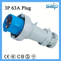 industrial multi plug sockets male to female electrical plug adapter