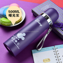 Stainless Steel Water Bottle Bullet Vacuum Flask Keeps Drinks Hot And Cold