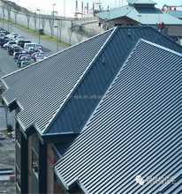 UV and Waterproof PVC material corrugated plastic roofing sheet
