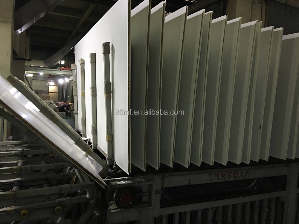 18mm double side white laminated melamine mdf board