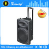PA speaker,12 inch speaker,pa speaker system with USB/SD/FM/BATTERY