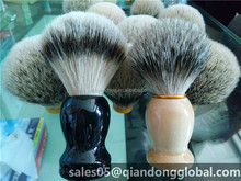 badger hair shaving brush with handle customize size and shape