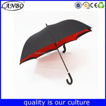 Beautiful unique cheap golf reverse umbrella / cantilever umbrella